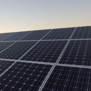 Solar Panels on Building 1