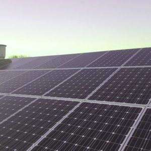 Solar Panels on Building 2